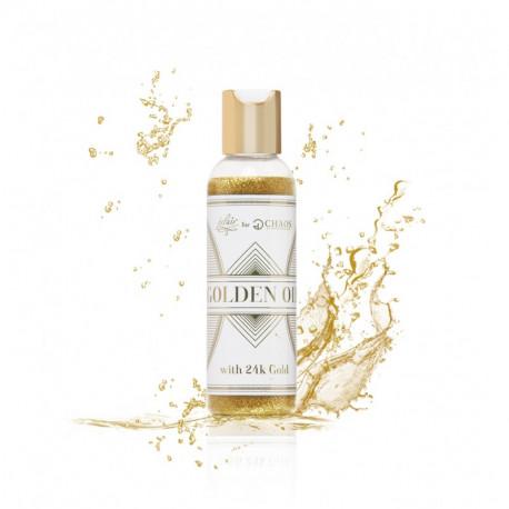 olejek do ciała z drobinkami złota Golden Oil