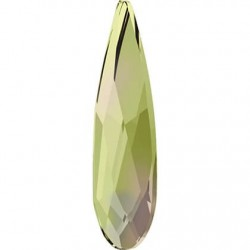Swarovski RAINDROP Luminous green 10x2,8 mm