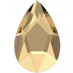 Swarovski Pear Golden Shadow 8x5 mm