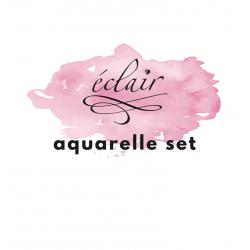 Zestaw farbek akwarelowych AQUARELLE SET (10 kolorów)